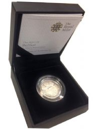 2010 Silver Proof One Pound Coin - Belfast for sale